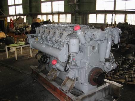 Цех по ремонту дизельных двигателей